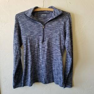 SALE!Columbia Quarter Zip Long Sleeve Athletic Top
